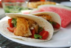 Fish tacos are a great way to enjoy a laid back summer meal in the sun. Add a little zing to yours by choosing flavorful fish, a spicy breading, fun condiments, and slices of juicy watermelon alongside. You'll want summer to linger.