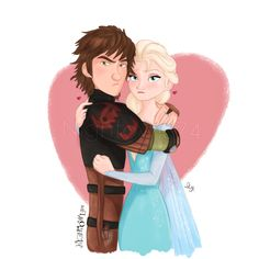 Just to let the Hiccelsa haters know, Hiccup and Elsa don't appreciate their comments XD   Stay proud, Hiccelsa shippers! XD