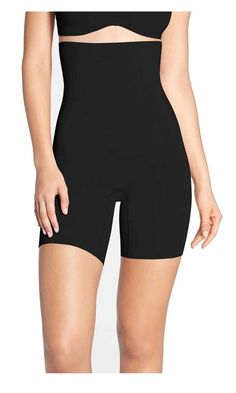 ea7dc2f8fa Details about SPANX Star Power Women s Tame To Fame High-Waist Mid-Thigh  Shaper