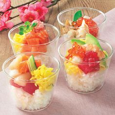 海鮮カップちらし寿司