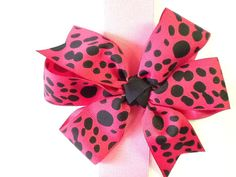 Bands and Bows  Pretty in Pink 5 inch Bows by darlenedeal on Etsy, $4.00