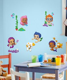 Look at this #zulilyfind! Bubble Guppies Peel & Stick Wall Decals by Bubble Guppies #zulilyfinds