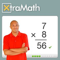 XtraMath is a free program that helps students master addition, subtraction, multiplication, and division facts. Maths Guidés, Math Fact Fluency, Fluency Practice, Math Help, Learn Math, Fun Math Games, Multiplication Games, Kid Activities, Math Practices