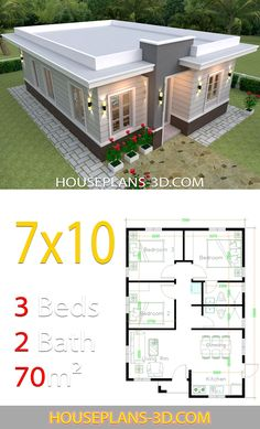 Design Discover House Design 710 with 3 Bedrooms Terrace Roof House Plans Terrace My House Plans House Layout Plans Simple House Plans Simple House Design Bungalow House Plans Modern House Plans House Layouts Modern House Design House Floor Plans Modern House Floor Plans, Modern Bungalow House, My House Plans, House Layout Plans, House Layouts, Small House Plans, Modern Houses, Simple House Design, Tiny House Design