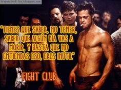 Frases de cine y de cineastas: Fight Club