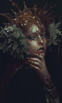 """Elves"" — Photographer: Rebecca Millen – Rebecca M. Fantasy Photography, Creative Photography, Portrait Photography, Fashion Photography, Photography Magazine, Editorial Photography, Mode Baroque, Dark Beauty Magazine, Fantasy Portraits"