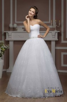 657639b8df49 Svadobné šaty Hadassa Elizabeth - vrstvený živôtik Salons