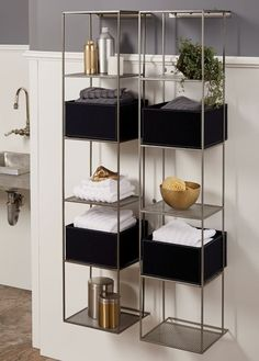 Modern Bathroom Organization