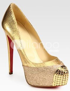 Shoes! on Pinterest | Gold Rhinestone, Patent Leather and Red ...