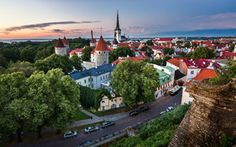 Обои tallinn, estonia, old town, таллин, эстония