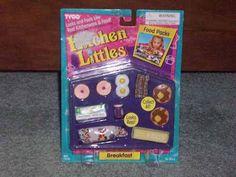 NEW KITCHEN LITTLES BREAKFAST Food Packs SET TYCO 1995 BNIB RARE | eBay