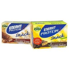 ENERVIT Snack Cacao 8 barrette