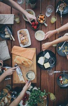 Host a potluck. #Socialize #SummerResolutions