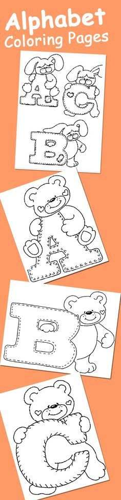 25 Alphabet Coloring Pages Your Toddler Will Love: Here are our pick of top 10 alphabet coloring sheets that will make ABC your child's best friends. Trust us when we say you will see your kid learn a lot more now, than what he would if you sat for hours trying to drill it down him.