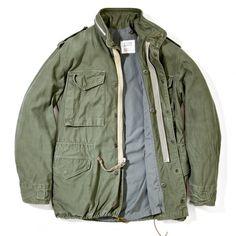 The Real McCoy's M-65 Field Jacket - Olive - RESTOCKED - CATEGORIES - Superdenim