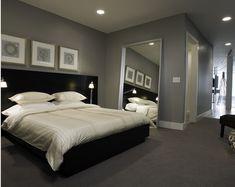 Grey Room Black Furniture
