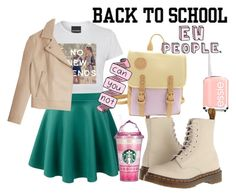 """Mean Girl"" by emeraldz on Polyvore"