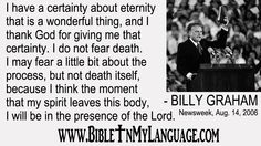 love and pray for the efforts of BGEA! Hope this quote from Rev.Billy Graham is an encouragement to you, and your loved ones. Please, share with others! Bible For Kids, Quotes For Kids, Billy Graham Quotes, Hebrew Bible, Bible Verses, Son Of David, Ancient Words, Presence Of The Lord, Kings Of Israel
