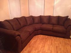 $400.00 obo Needs a wipe down, but in great condition Thanks! Not bad looking, however, it is microfiber you either like it or not???