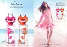 Karlie Kloss by Inez & Vinoodh for Juicy Couture La La Malibu Collection Fragrance