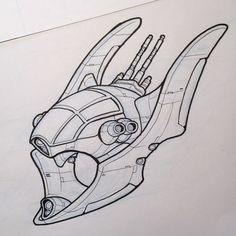 Space Ship Concept Art, Space Artwork, Game Concept Art, Spaceship Drawing, Spaceship Design, Starship Concept, Kindergarten Art Projects, Fantasy Art Landscapes, Art Station