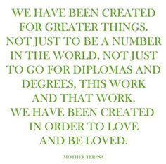Love Mother Teresa