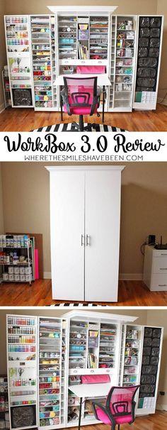 ehrfurchtige craft room organization workbox 3 0 review denken craft denken