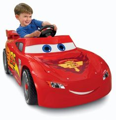 The Fisher-Price Power Wheels Disney/Pixar Cars 2 Lightning McQueen race car lets your kids relive the excitement of Cars 2 in their very own talking car. A perfect gift for a kid. Disney Pixar Cars, Lightning Mcqueen Power Wheels, Toddler Toys, Kids Toys, Hot Wheels, Kids Power Wheels, Lightening Mcqueen, Cars Characters, Kids Ride On