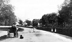 Old photograph of Fochabers, Scotland