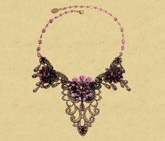 Lace Necklace 16012 Michal Negrin