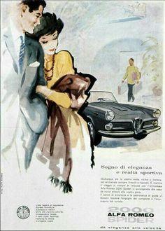 Alfa Romeo 2000 Spider Ad