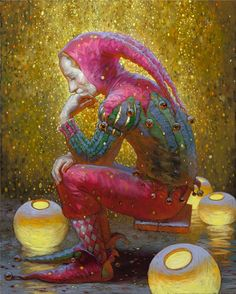 Victor Nizovtsev Russian Fantasy painter