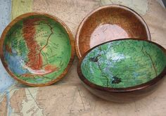 maps in bowls