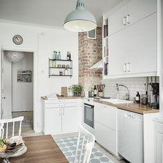 Little white kitchen