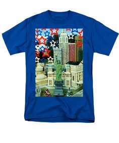 Classic Independence Day Style And Colors T-Shirt featuring the photograph Spirit Of Freedom by Tiana Art