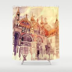 Venezia Shower Curtain by Takmaj. Worldwide shipping available at Society6.com. Just one of millions of high quality products available.