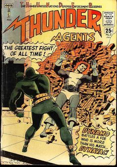 T.H.U.N.D.E.R. Agents #2 (Jan '66) cover by Wally Wood.