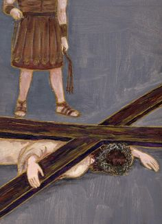 9) Jesus falls for the third time