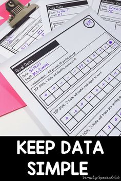 Let's talk data for a minute.  I have a definite love/ hate relationship with data… I know some of you must be with me on this…. ((right??))  I LOVE how it keeps me organized, supports IEPS, and helps me know where to go next.  But I HATE having to create new sheets …