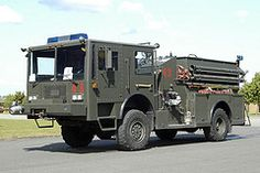 Air Force Military Fire Trucks   92L 105 02 (IainDK) Tags: truck fire force military air united engine ...