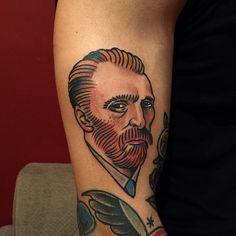 #타투 #홍대타투 #올드스쿨 #tattoo #oldschool #newschool #ink #inked #hightension #반고흐 #vanGogh #Gogh