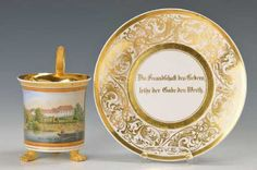Lot: panorama cup, Lot Number: 5048, Starting Bid: €700, Auctioneer: Henry's Auktionshaus AG, Auction: Glass, porcelain, antiques and collectibles, Date: December 28th, 2017 EET