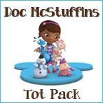 Doc McStuffins Tot Pack (homeschool/preschool learning printables)