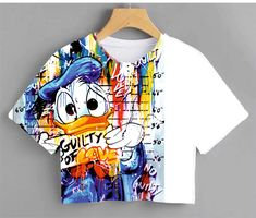 Blouses For Women, T Shirts For Women, Pop Art Wallpaper, Paint Shirts, Painted Clothes, Western Outfits, Muslim Fashion, Kids Fashion, Fashion Design