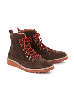 #jouleswishlist  Joules HILLBOUND Mens Walking Boots, Brown. No matter whether it's up hills and over dales (or simply a trip to the local) these boots will walk all over the competition.