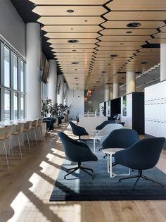 Australian Stock Exchange, interior by Bates Smart. Photo by Trevor Mein. #interior #Workplace #Design #Office