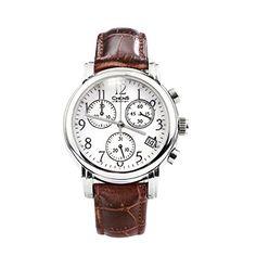 CHENS Vintage Fashion Women Quartz Date Calf Band Sapphire Crystal Swiss Quartz Bracelet Watch - Jewelry For Her