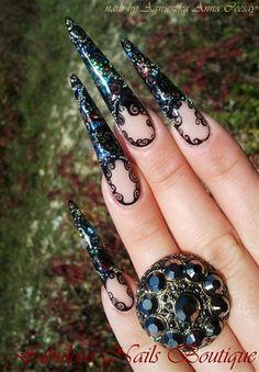BAROQUE by Agusia - Nail Art Gallery nailartgallery.nailsmag.com by Nails Magazine www.nailsmag.com #nailart