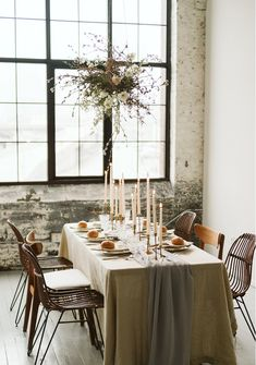 in Styled Shoots. Table Setting Inspiration, Wedding Planning Inspiration, Table Setting Etiquette, Flower Installation, Earth Design, Wedding Table Settings, Bridal Shoot, Floral Centerpieces, Minimalism