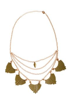 Dressing Your Truth - Type 3 Taking Olive It Necklace